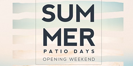 Patio Days at The Joinery tickets
