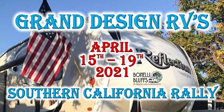 2021 Grand Design RV's 2nd Annual Southern California Rally tickets