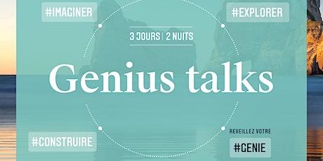 Genius Talks Post-Covid billets