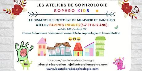 Atelier de sophrologie parents / enfants Courbevoie billets