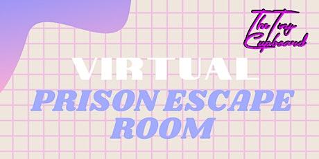 Virtual Prison Escape Room tickets