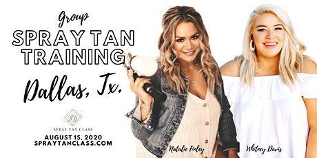 Spray Tan Training | Slay the Spray Sunless Tour Fort Worth, TX. tickets