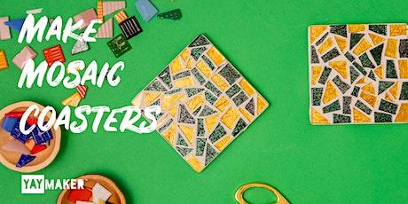 Virtual: Mosaic Coaster Making and Sip party tickets