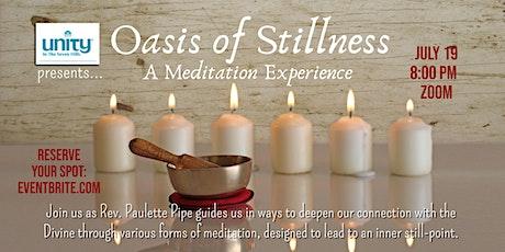 Oasis of Stillness: A Meditation Experience entradas