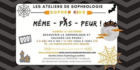 Atelier sophrologie enfants spécial Halloween Courbevoie : Même pas peur ! billets