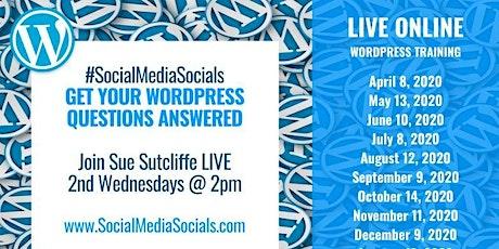 WordPress Wednesdays tickets