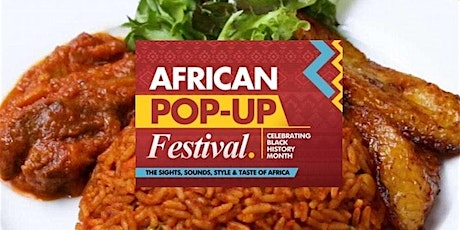African Popup Festival  - 2021 tickets