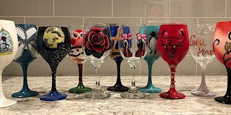 Wine Glass or Beer Mug Painting Workshop tickets