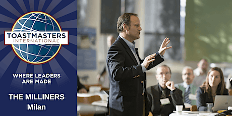 Learn Public Speaking in English - Toastmasters The Milliners Club - ONLINE biglietti