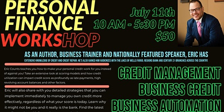 Personal Credit, Business Credit & Business Automation Workshop tickets