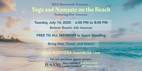 Yoga and Namaste on the Beach tickets