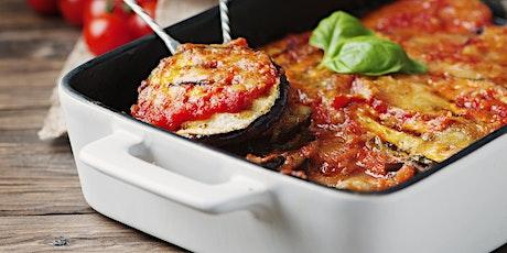 Zoom Cooking Class: Eggplant Parmigiana tickets