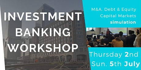 Investment Banking Workshop Series tickets