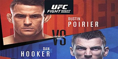 LIVE@!!..@UFC FIGHT NIGHT: POIRIER V HOOKER FIGHT LIVE tickets