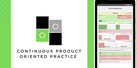 Continuous Product Oriented Practice workshop tickets