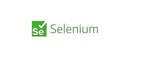 4 Weeks Selenium Automation Testing Training Course in Newark tickets
