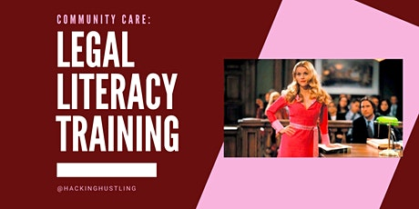 Legal Literacy Training: Surveillance and Sex Work tickets