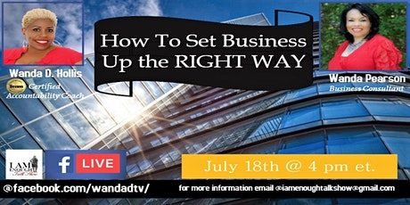 How  to Set Business Up the Right Way - Part 3 tickets