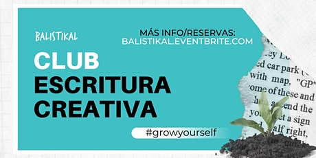 Club de Escritura Creativa entradas