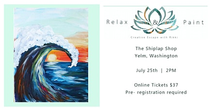 Relax + Paint at the Shiplap Shop tickets