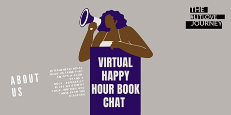 July #litlovejourney Virtual  Happy Hour Book Chat tickets