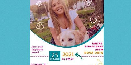 """Jantar beneficente / lançamento livro """"Do Lado de Dentro"""" Rafaela Ungaretti ingressos"""