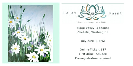 Relax and paint at Flood Valley Taphouse! tickets