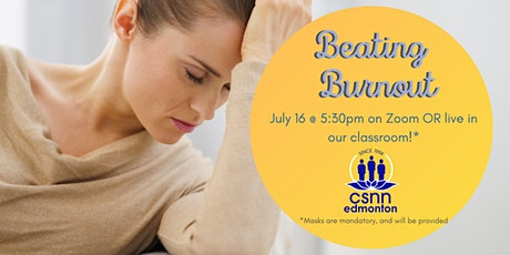 Beating Burnout 101 & Natural Nutrition Info Session tickets
