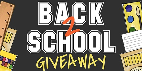 Back 2 School Giveaway tickets