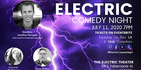 Electric Comedy Night July 11th tickets