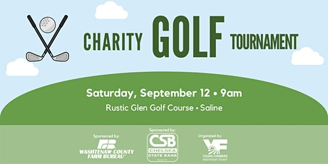 2020 Charity Golf Tournament tickets