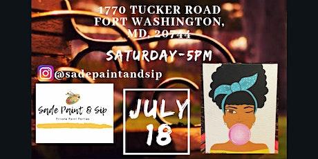 Outdoor Paint & Sip tickets