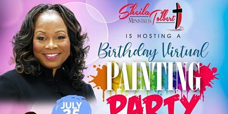 Birthday Virtual Painting Party tickets