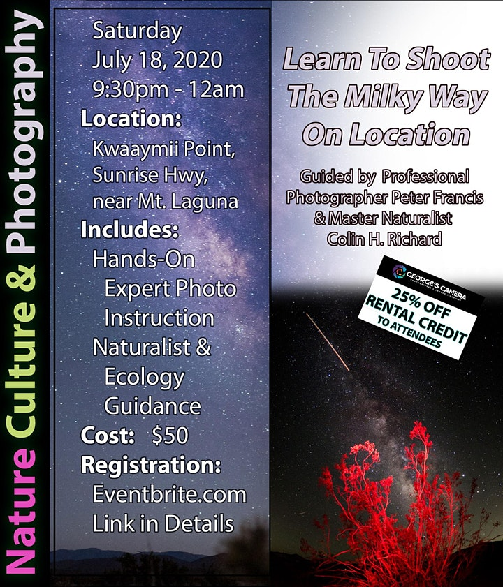 Learn To Shoot The Milky Way On Location image