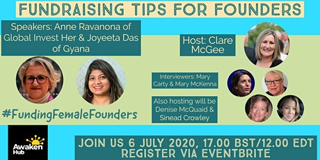 #FundingFemaleFounders - Fundraising Tips for Founders Tickets
