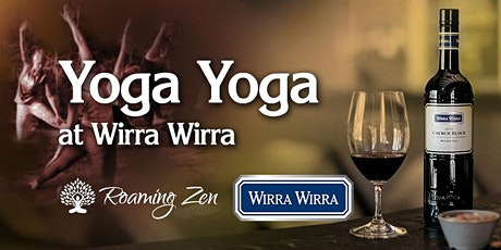 Roaming Zen Yoga Yoga at Wirra Wirra Winery tickets