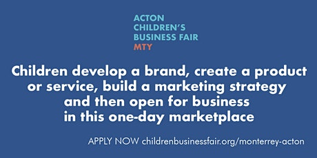 Acton Children's Business Fair MTY boletos