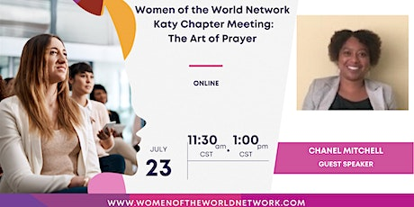 Women of the World Network Katy, TX Chapter Online: The Art of Prayer tickets