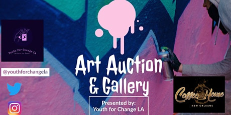 Youth For Change La  Art  Auction tickets