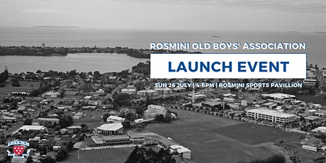 Rosmini Old Boys' Association Launch tickets