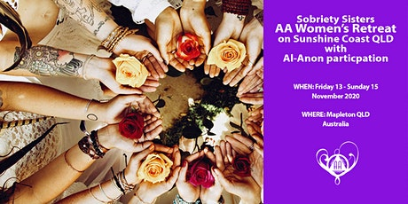 Sobriety Sisters AA Women's Retreat with Al-Anon participation tickets