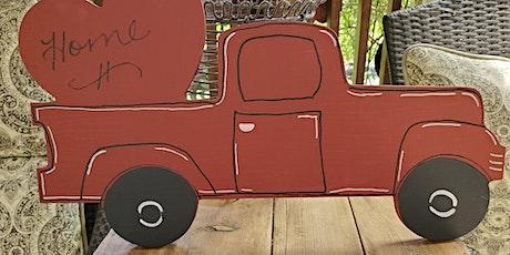 Lil' Antique Truck Wall Hanger Workshop $25 tickets