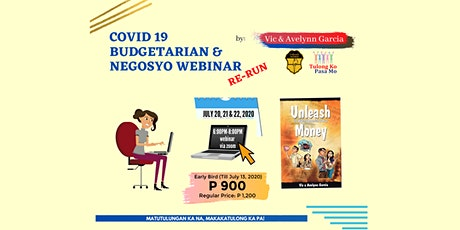 The Re-Run of COVID-19 Budgetarian and Negosyo Webinar tickets