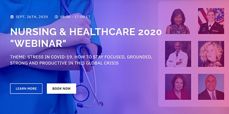 "NURSING & HEALTHCARE 2020 ""Webinar"" tickets"