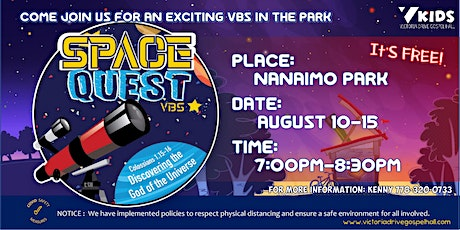 Space Quest VBS  @ Nanaimo Park tickets