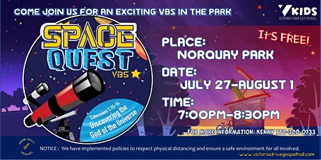 Space Quest VBS  @ Norquay Park tickets