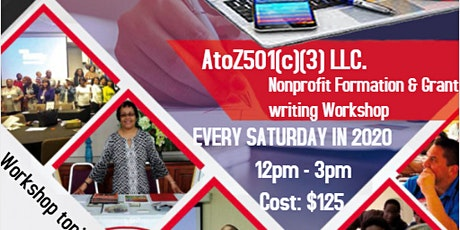 NONPROFIT FORMATION & GRANT WRITING WORKSHOPS tickets