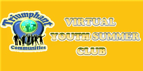 Virtual Youth Summer Club - Session II tickets