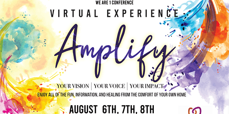 We Are 1 Amplify Virtual Conference tickets
