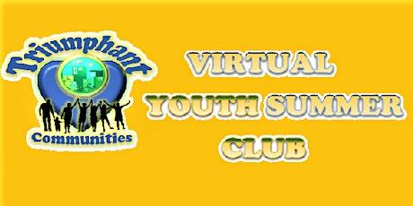 Virtual Youth Summer Club - Session III tickets
